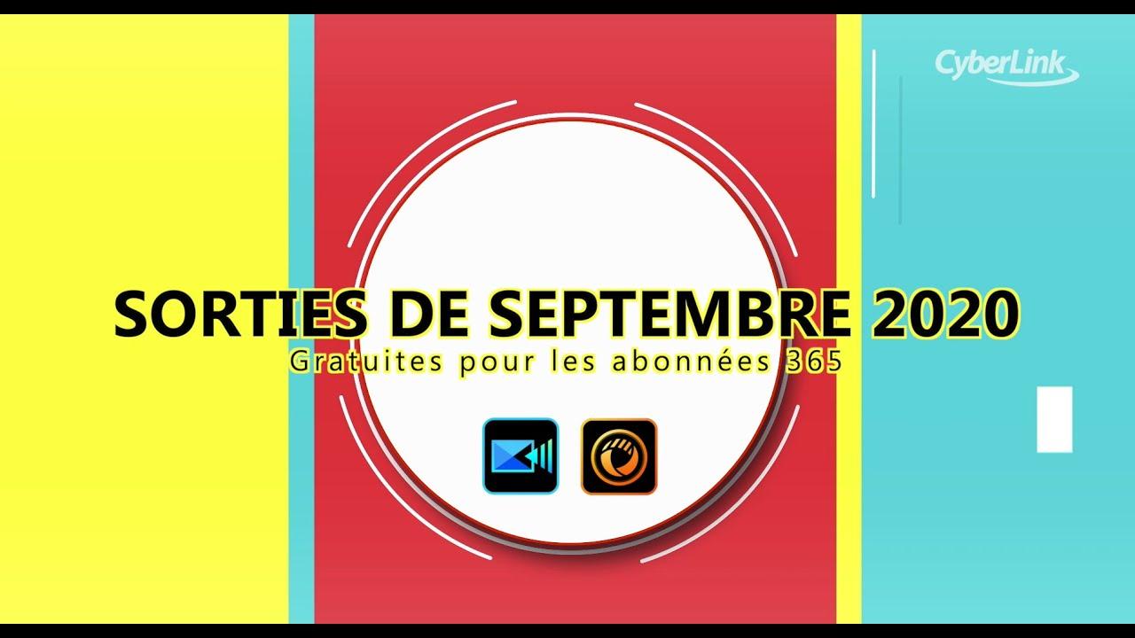 Sorties de Septembre 2020   Nouvelles ressources pour PowerDirector 365 & PhotoDirector 365