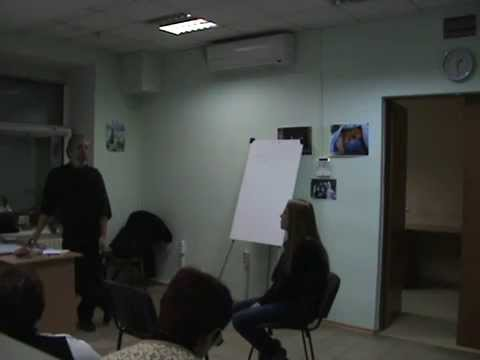 PTSD Therapy Lectures in Dnipropetrovsk Ukraine March 2015 Part 31