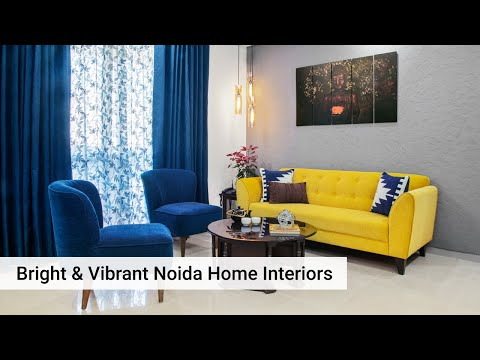 Vibrant & Stylish Interior Designs For Noida Home