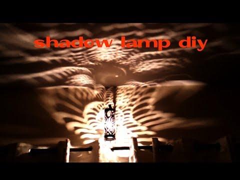 DIY Lampshade !! lasser cut lantern making diy