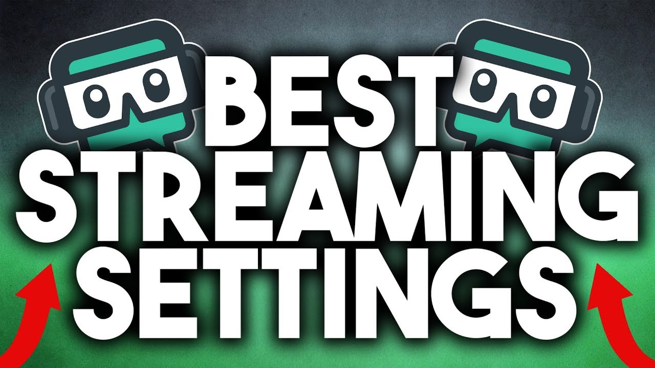 Best OBS/Streamlabs OBS Settings For Streaming in 720p 60FPS On ANY PC!  (2018)