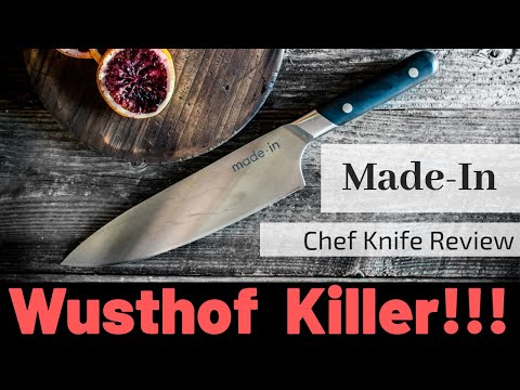 Made In Chef Knife Review (Wusthof Killer)