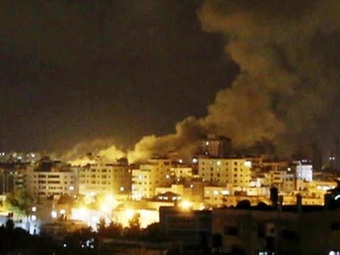 Israeli airstrikes hit Hamas targets after rocket attacks