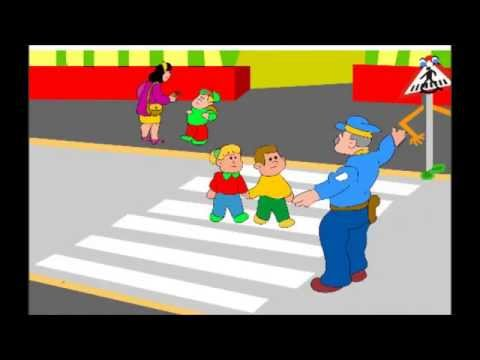 Seguridad vial anuncio infantil youtube - Dibujos pared habitacion infantil ...