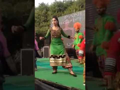 Punjabi dj dancer