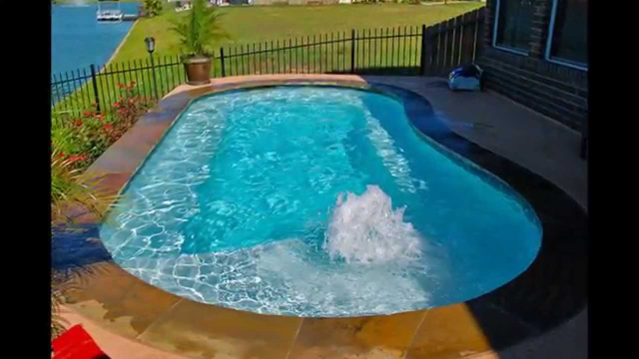 Small swimming pool designs youtube for Best small pool designs