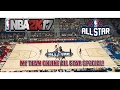 2017 NBA ALLSTAR WEEKEND SPECIAL EAST SQUAD MY TEAM ONLINE