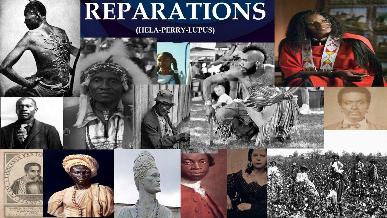 REPARATIONS Pt 1- Global |Response - Yvette Carnell, Dane Calloway, Search for Uhuru, Chief WarHorse