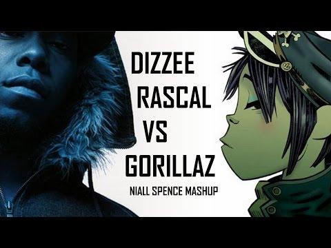 Dizzee Rascal vs Gorillaz - Feel Good Sirens - Niall Spence Mashup #9