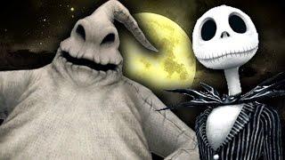 FUNNY OOGIE BOOGIE! - Gmod Nightmare Before Christmas Mod (Garry's Mod)