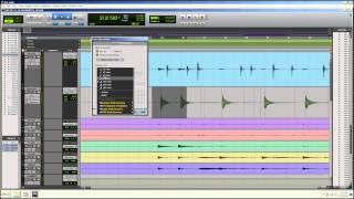Elastic Audio Drums in Pro Tools