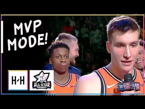Bogdan Bogdanovic MVP Full Highlights at 2018 Rising Stars Game - 26 Points, 6 Ast!