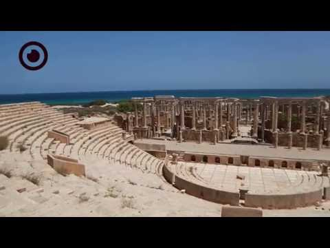 The magnificent city of Leptis Magna - Libya