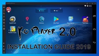 KoPlayer 2.0 Android Emulator Installation Guide 2019