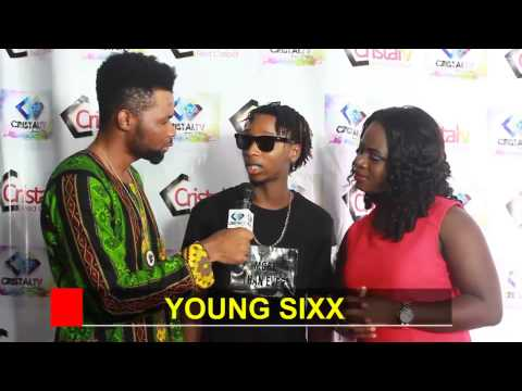 Cristal TV Red Carpet live with Yung6ix