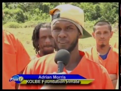 KOLBE Foundation inmates help police clear buffer