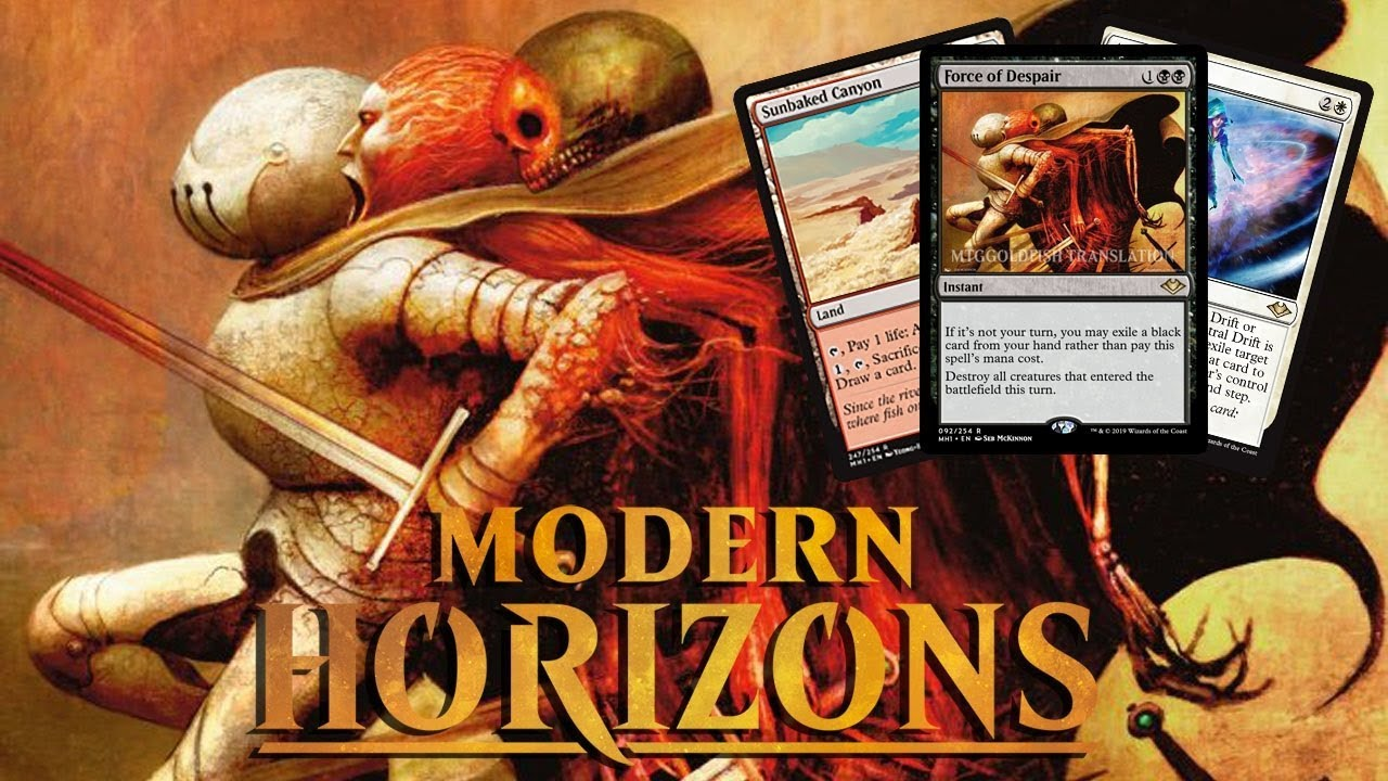 Daily Modern Horizons Spoilers May 21 2019 Enemy Canopy Lands