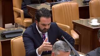 Íñigo Alli en la Comisión de evaluación de la Constitución Española
