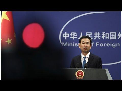 Chancelaria chinesa: Pequim vai responder se EUA provocarem escalada da guerra comercial