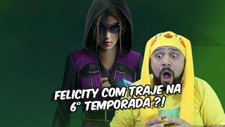 Arrow - Felicity com traje na 6° temporada ?!