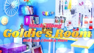 Hack Along: We make Goldie's Room - DIY Bed | Desk | Lab & More | GoldieBlox Collab Ep 7