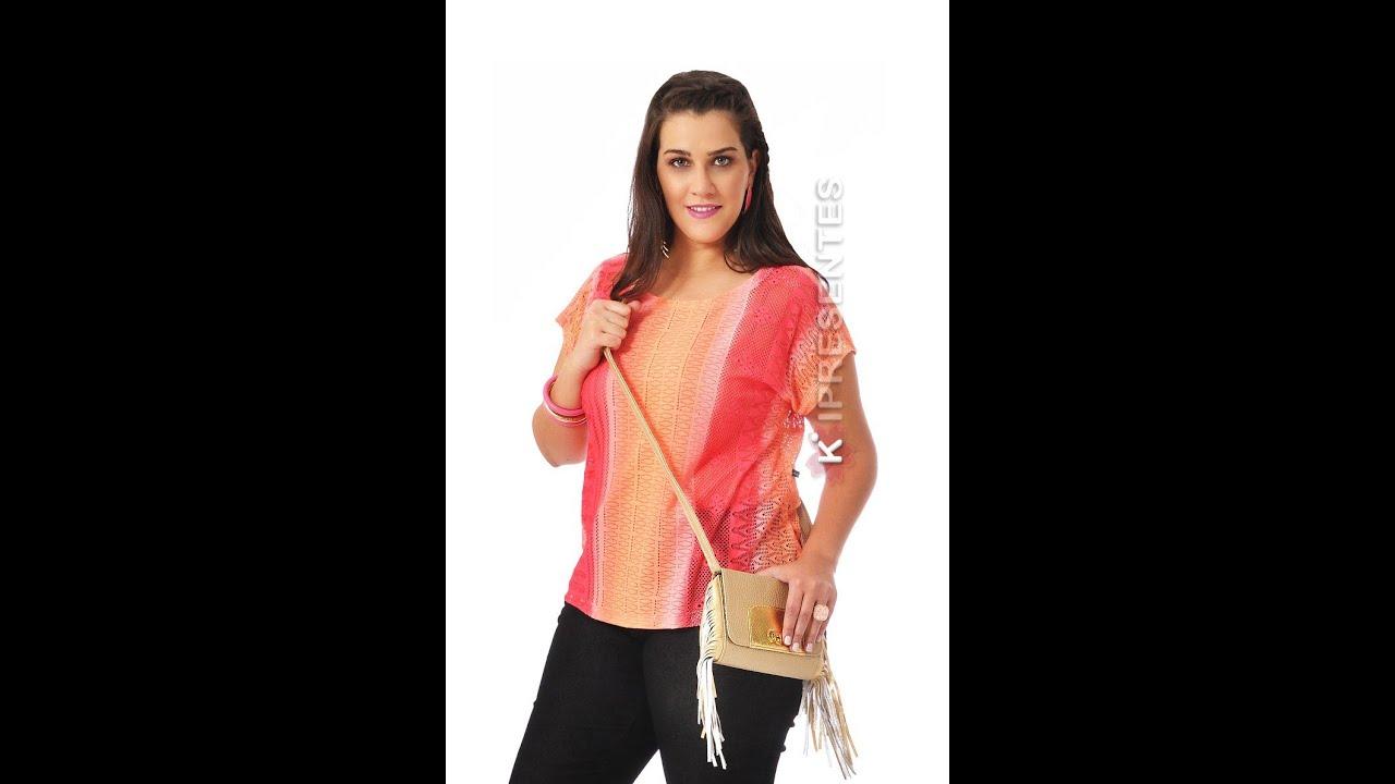 9ce366da1 Blusa Tamanhos Grandes Plus Size Moda feminina Grande GG Tendência Verão  2012 2013