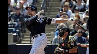 Yankees' Aaron Judge hits Grapefruit League HR