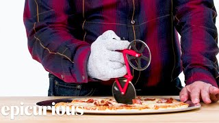 5 Pizza Cutting Gadgets Improved By Design Expert | Well Equipped | Epicurious