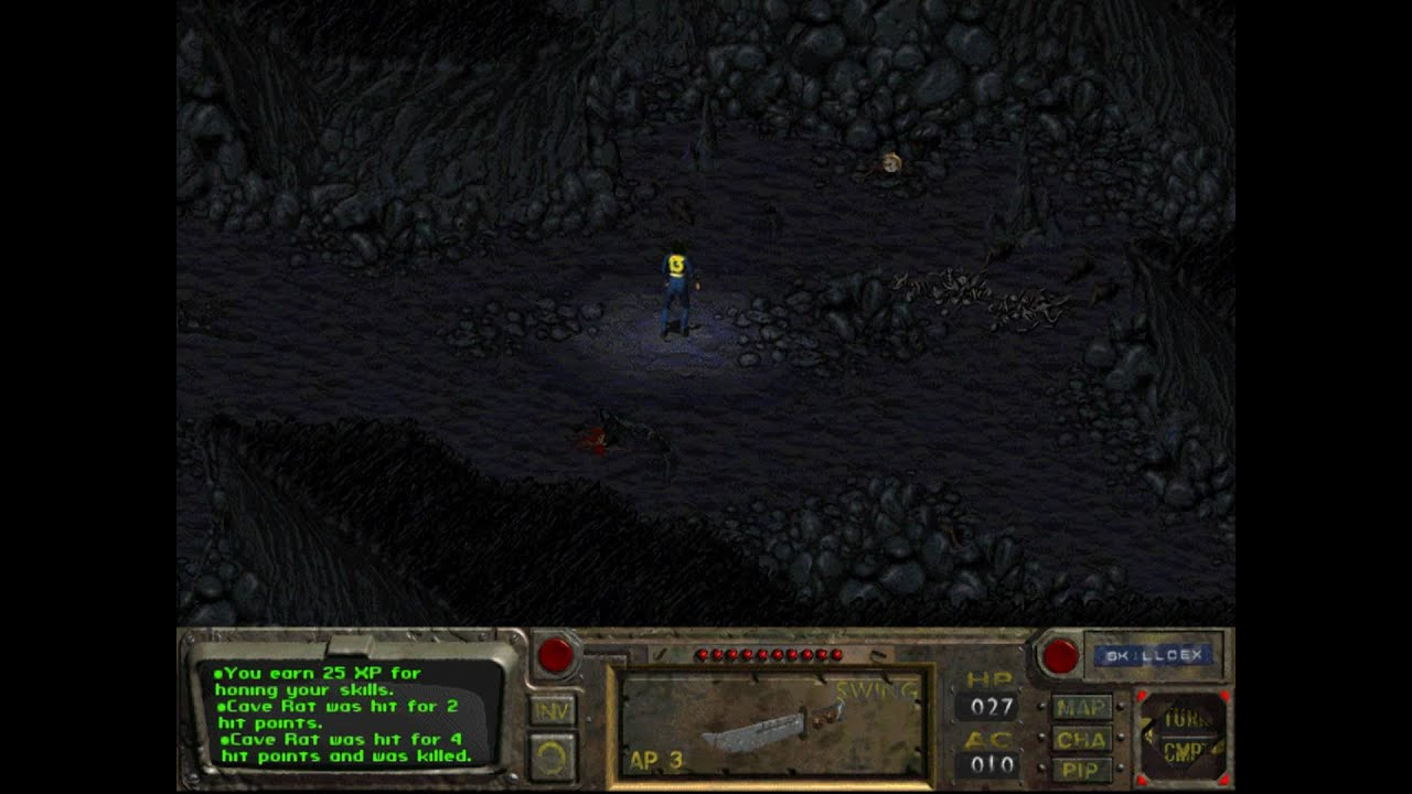Resultado de imagen para fallout 1 gameplay