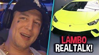 Lamborghini Probefahrt! 😱 Huracan kaufen? 😍 | MontanaBlack Realtalk