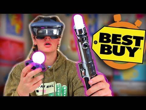 Crazy Star Wars VR - Best Buy 5 Minute Speed Shopping!