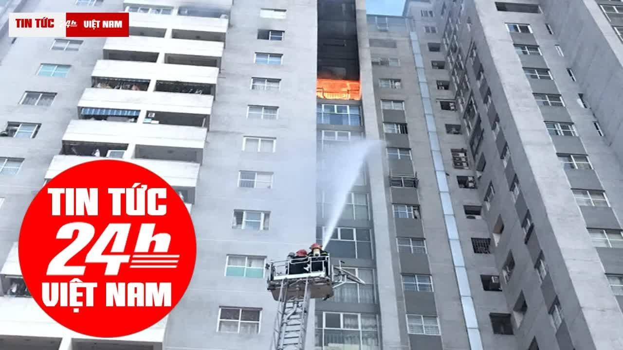 cháy chung cư bắc hà – cháy lớn tại chung cư ct3 bắc hà