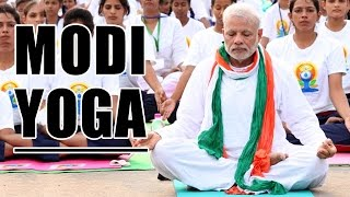 Narendra Modi's Favorite 10 Yoga Asanas || International Yoga Day