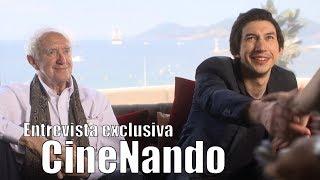 Adam Driver y Jonathan Pryce - Entrevista exclusiva CineNando