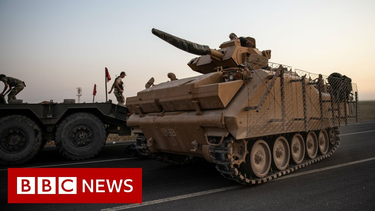 Turkey says it will begin its military offensive into Syria 'shortly'