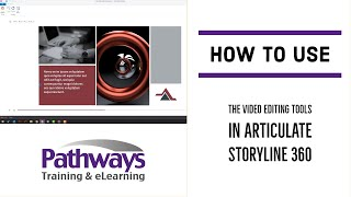 Cropping video footage wİth Articulate Storyline