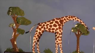 Giraffe Metal Whirligig - Wind & Weather