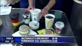 Cheap & healthy fast food alternatives