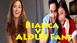 Eat Bulaga October 19, 2015 | Bianca Gonzalez  vs ALDUB Fans