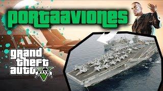 GTA V Online - Mapa Brutal!! #2 Portaaviones en GTA 5 Online!