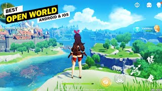 10 Best Open-World Android and iOS Games! [High Graphics]