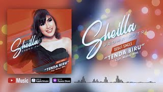 Gambar cover Sheilla Padha Putri - Tenda Biru (Official Video Lyrics) #lirik