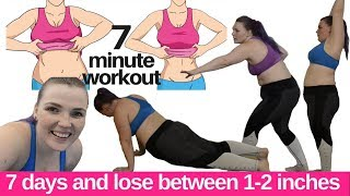 How Many Inches Is It Really Possible Shrink In A Week? | I Tried A 7 Minute Workout
