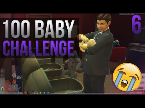 Social Worker Takes My Baby?! The Sims 4: 100 Baby Challenge ❤ Part 7