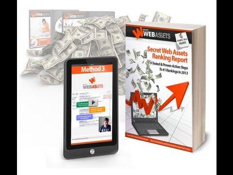 Secret Web Assets Review - Seo Expert Revelas The 9 Steps With Secret Web Assets