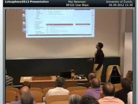User Blast - Mat Newman @ University of Zurich