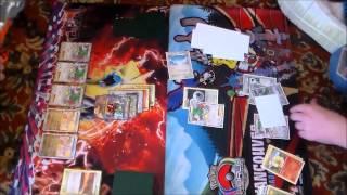 Heretic (Dragon Mega Rayquaza) vs Justin Boughter (Colorless Mega Rayquaza)