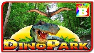 Dino Parc Râșnov #1. Facem cunostinta cu dinozaurii.  Bogdan`s Show. Vlog.
