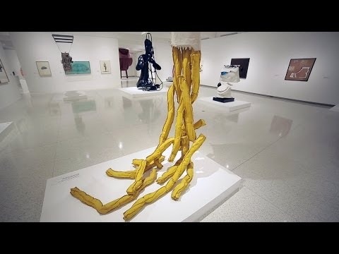 Claes Oldenburg's Shoestring Potatoes Spilling from a Bag