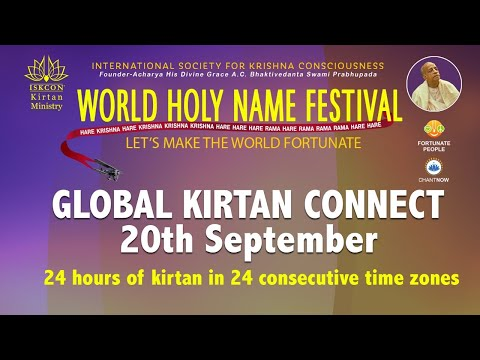Global Kirtan Connect (Morning Session) | World Holy Name Festival 2020